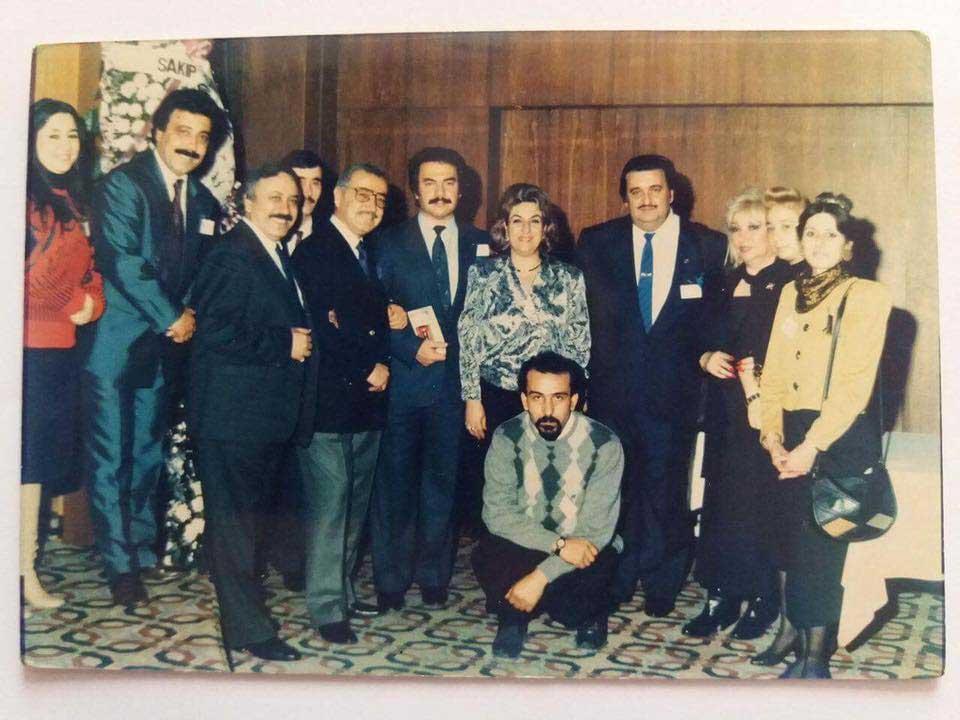 1990 Yılı MESAM Toplantısından Bir Kare…