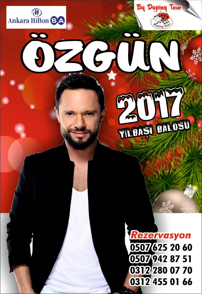 Özgün Yılbaşı Gecesi Ankara Hilton'da!..