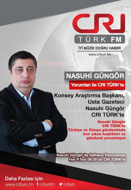 Usta Gazeteci CRI Türk FM'de!