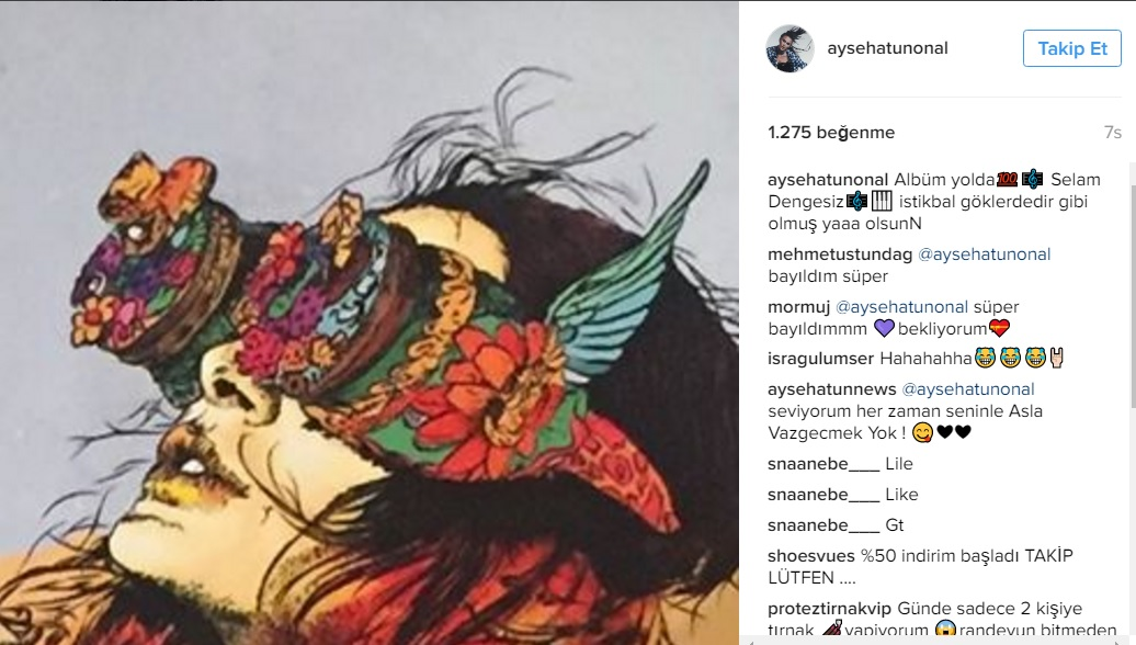 Ayşe Hatun Önal'dan Yeni Albüm Müjdesi!..