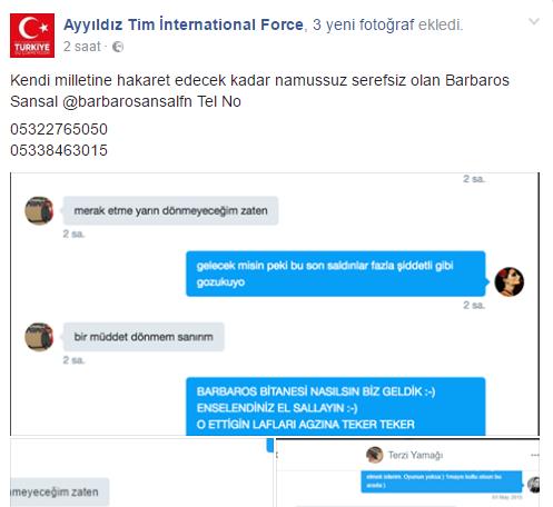 Barbaros Şansal'ın Twitter Hesabı Hacklendi!