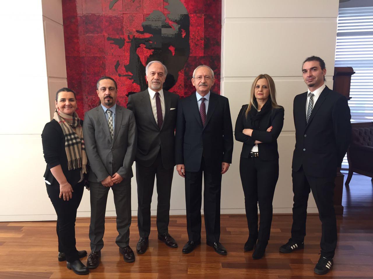 URYAD'dan Cumhuriyet Halk Partisi Genel Başkanı'na Anlamlı Ziyaret