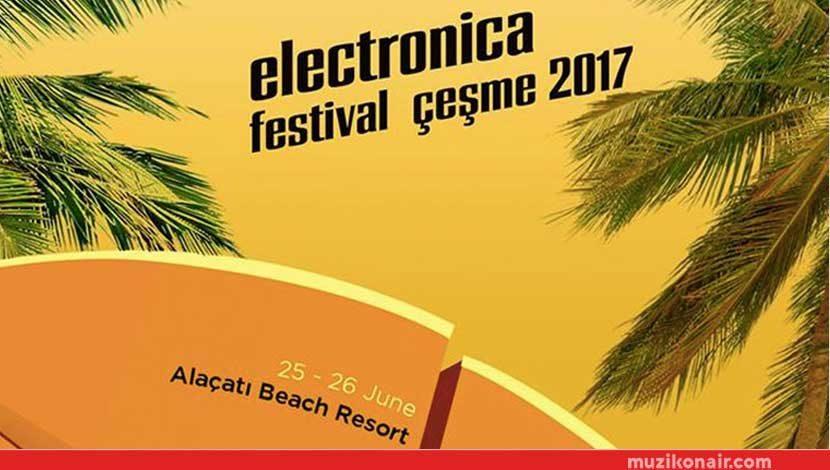 Electronica Festival 25-26 Haziran'da Alaçatı Çeşme'de!..