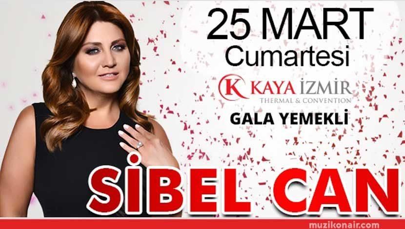 İzmir Kaya Otel'de Sibel Can'lı Gece!..