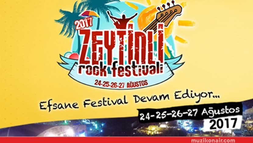 Zeytinli Rock Festivali 24 – 27 Ağustos'ta Dalyan Sahilde!..