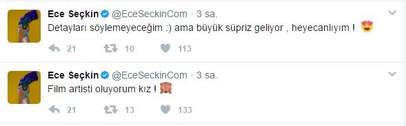 Ece Seçkin'in Sürprizini Müzikonair Bozuyor!..