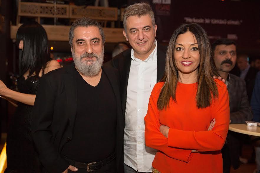 Soner Olgun'un Albüm Lansmanında Ünlüler Geçidi!..