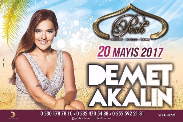 Demet Akalın 20 Mayıs'ta Posh Club Bodrum'da!..