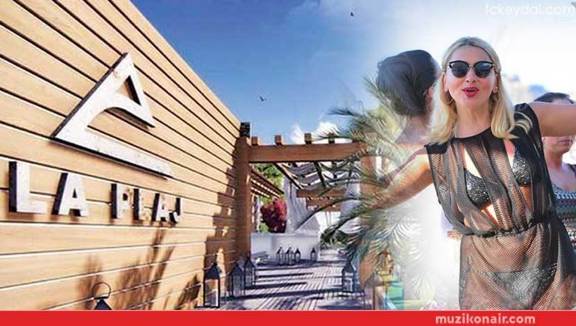 Hadise'nin Mekanı La Plaj Cezadan Kurtulamıyor!..