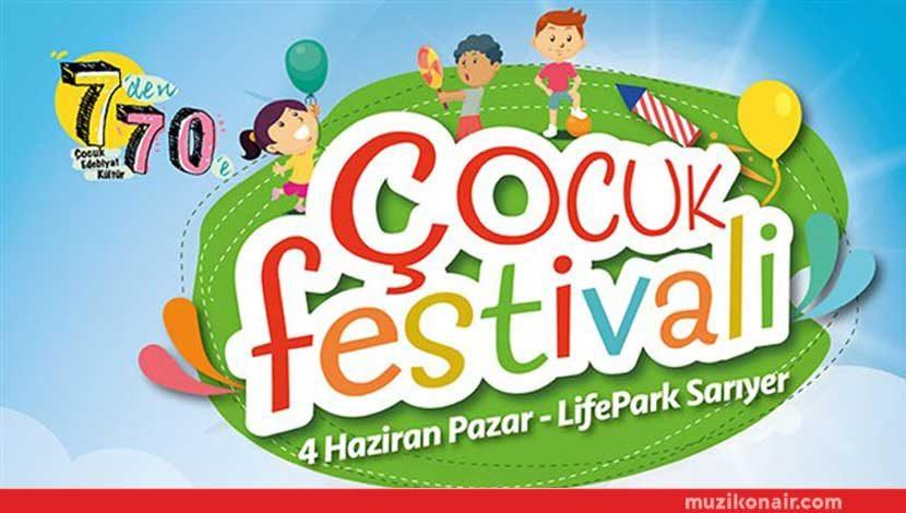 """En Büyük """"Çocuk Festivali"""" 4 Haziran'da Life Park'ta!.."""