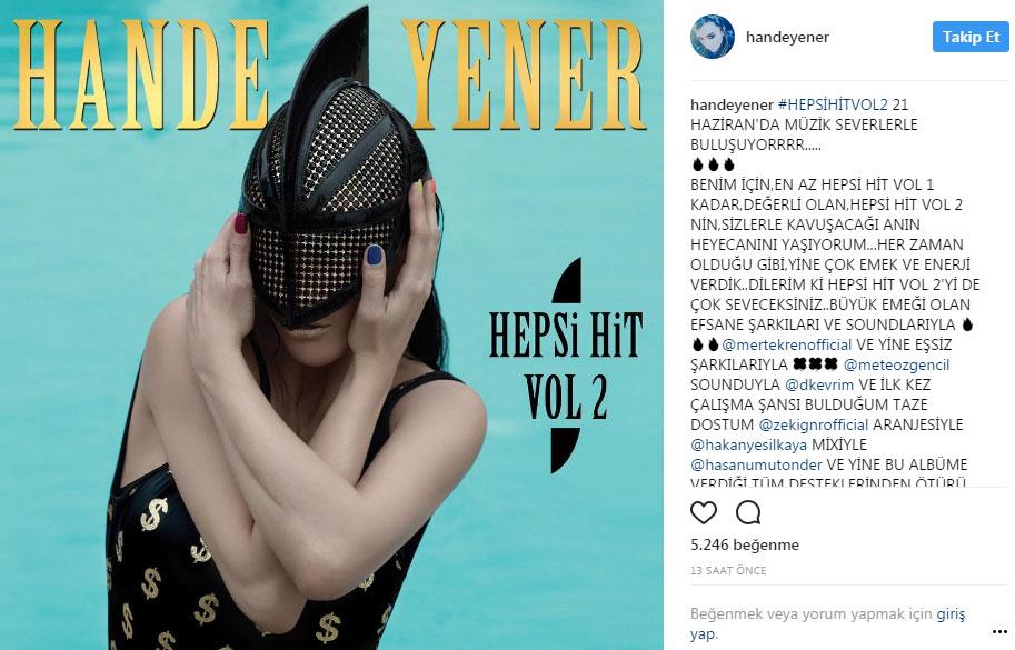 Hande Yener'in Yeni Albümü Ne Zaman Çıkıyor?