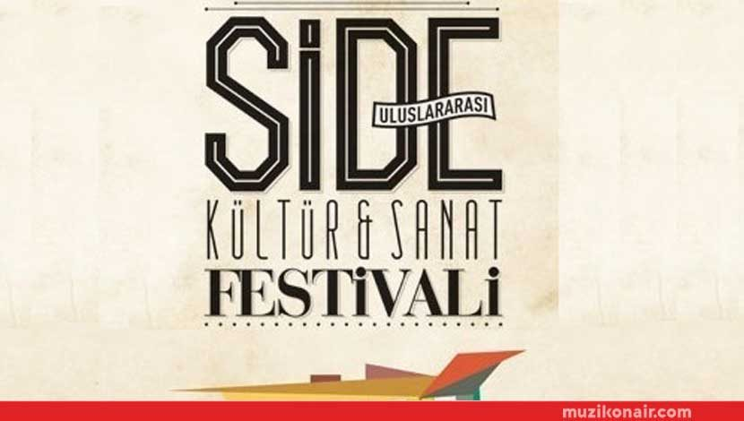 16. Side Dünya Müzikleri Kültür ve Sanat Festivali Başlıyor!..