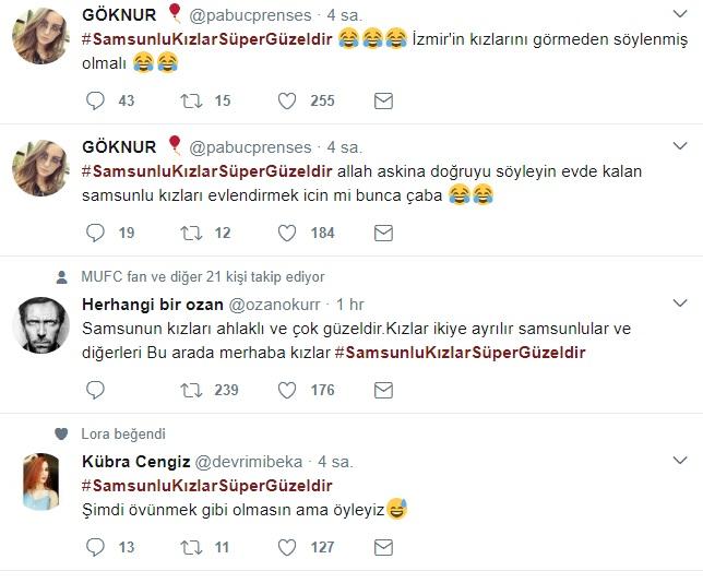 Samsunlu Kızlar Sosyal Medyanın Gündeminde!..