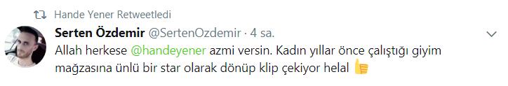 Hande Yener Tebrikleri Kabul Ediyor!..
