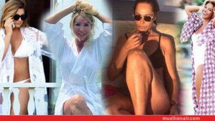 Kadın Starlardan Mayo-Bikini Şov!..