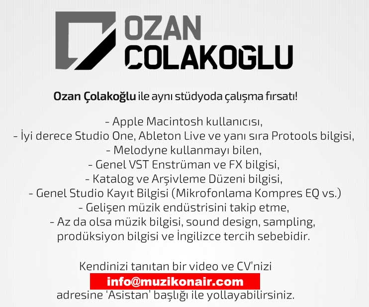 Ozan Çolakoğlu ile Aynı Stüdyoda Çalışma İmkanı!..