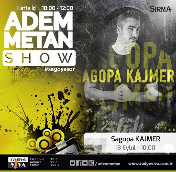 Adem Metan Show'a Sagopa Kajmer Geliyor!..