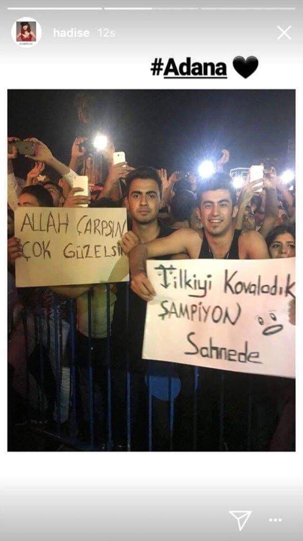 """Hadise'den Aleyna Tilki'ye """"Şampiyon"""" Göndermesi!.."""