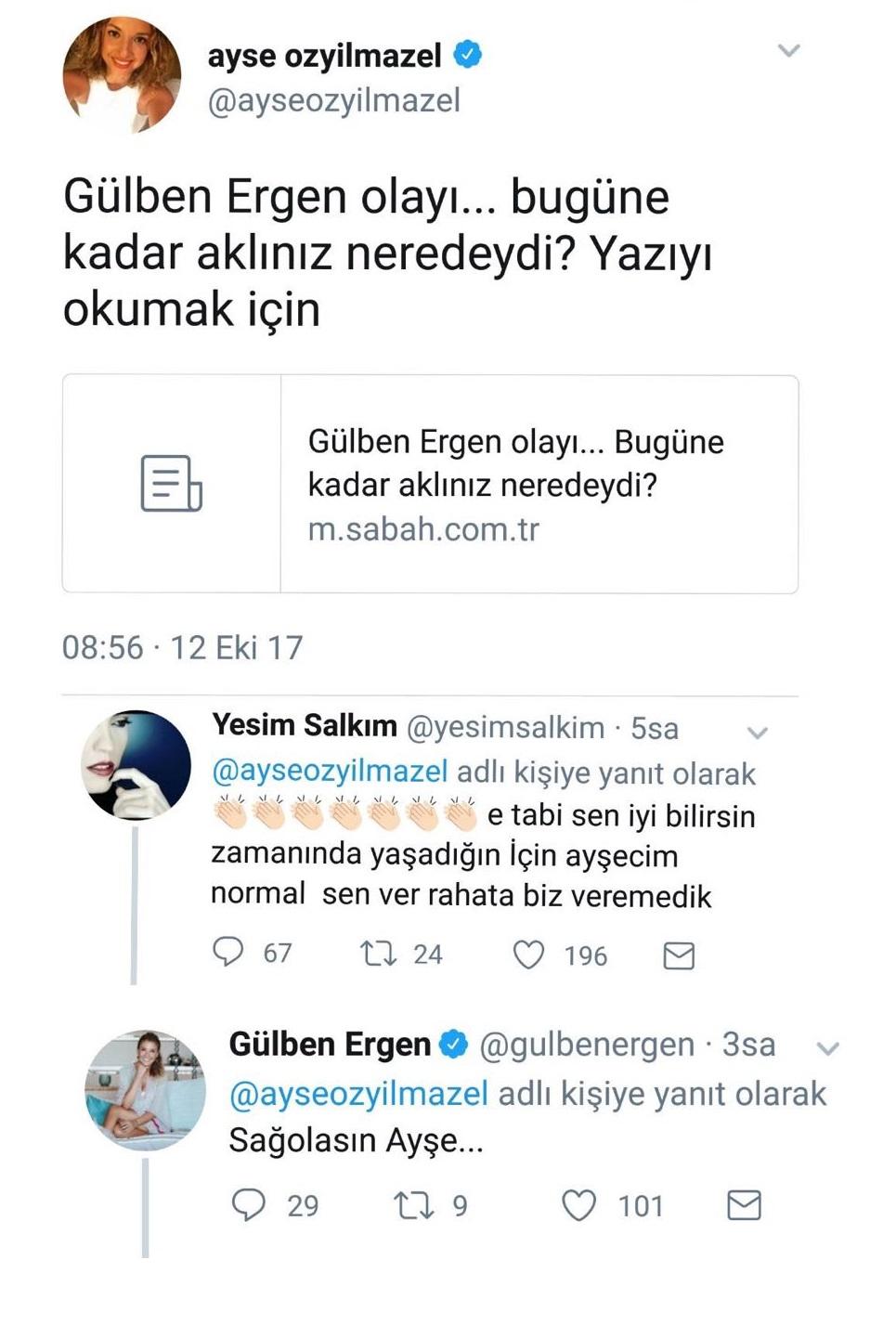 Yeşim-Gülben Kavgasına Ayşe Özyılmazel de Dahil Oldu!..