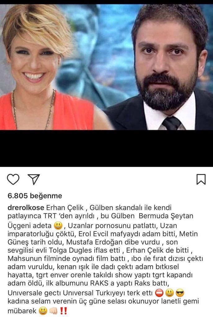 """""""Gülben Ergen ile İlişki Yaşayanların Sonu Hep Aynı"""""""