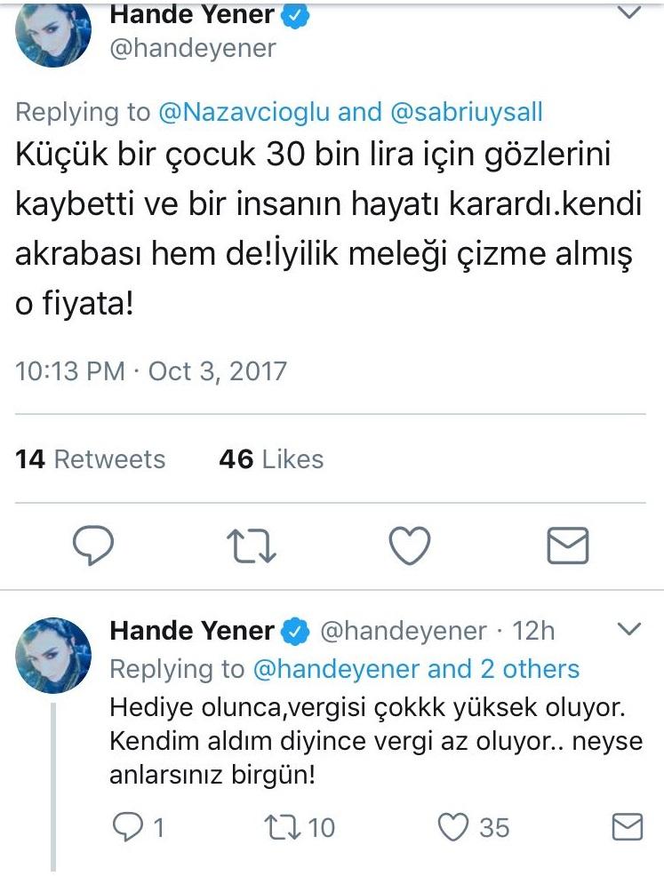 """Hande Yener Bildiklerini Açıklıyor! """"Vergi Düşük Olsun Diye…"""""""