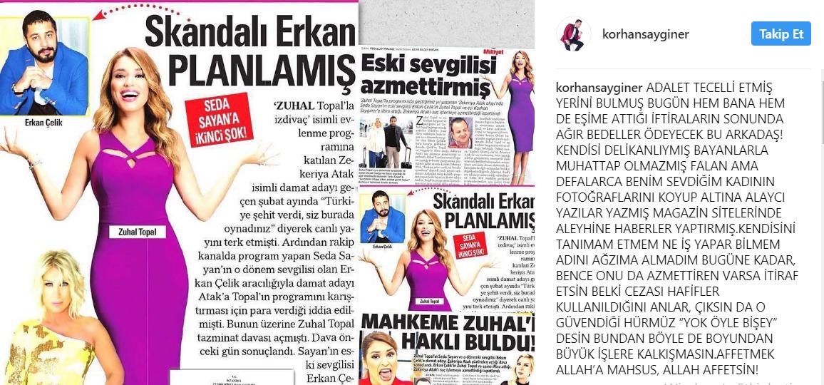 """Erkan Çelik-Zuhal Topal Kavgası Kızıştı! """"Utanacaksın"""""""