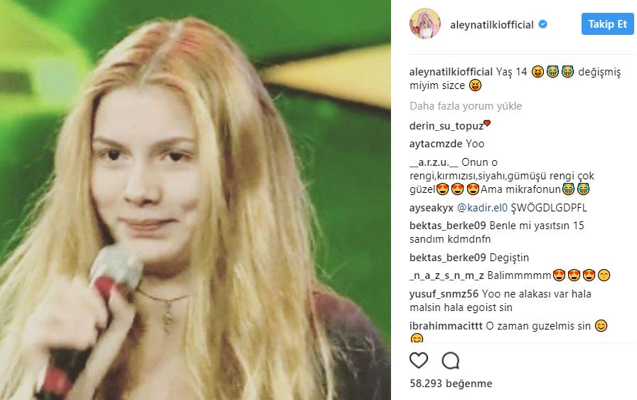 """Aleyna Tilki Sordu! """"Değiştim mi?"""""""