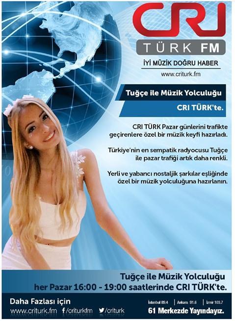 CRI Türk FM'de Yepyeni Bir Program Başlıyor!..