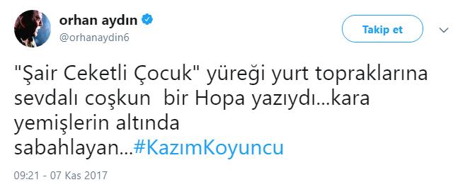 Karadeniz'in Asi Çocuğu Kazım Koyuncu 46 Yaşında!..