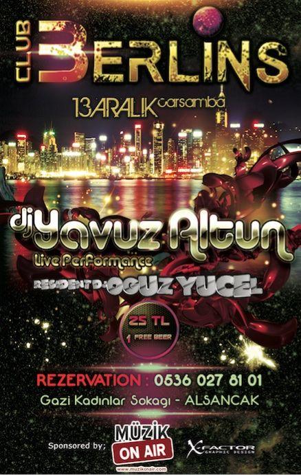 13 Aralık Gecesi İzmir'de Eğlenceye Doyacaksınız!..