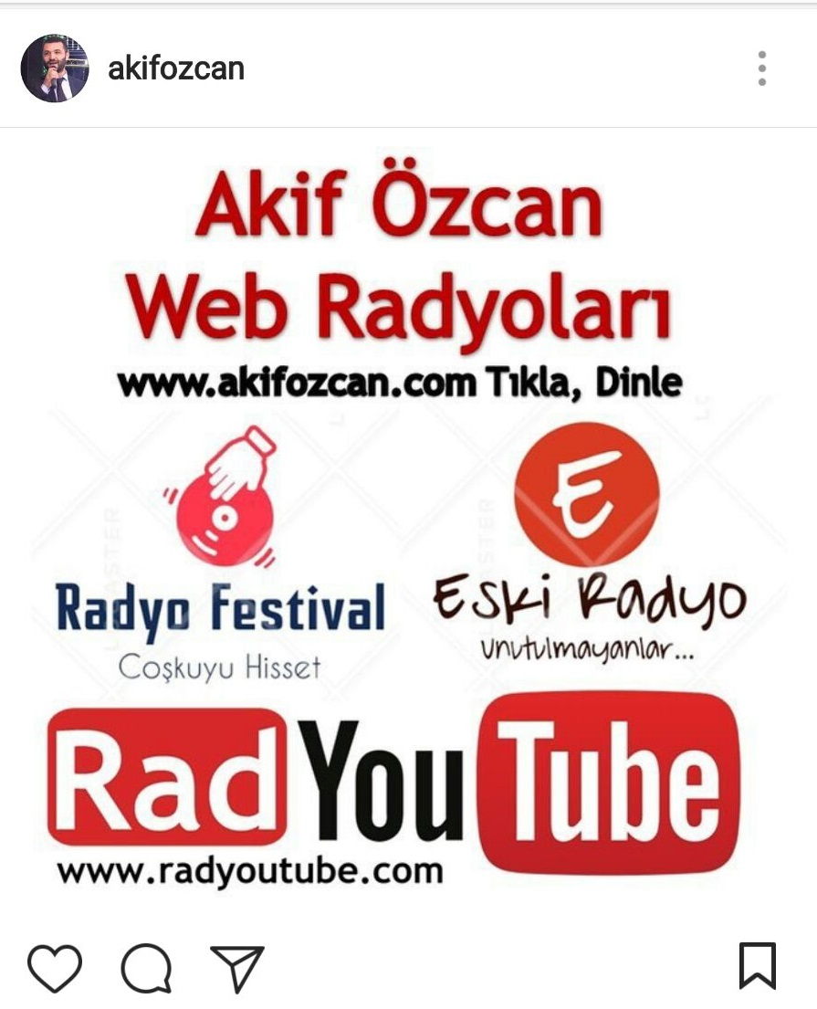 Akif Özcan Web Radyoları Yayında!..