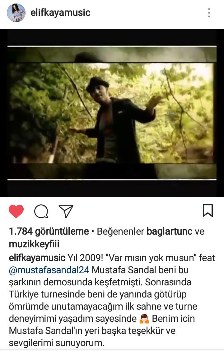Elif Kaya'nın Mustafa Sandal'a Olan Vefası!..
