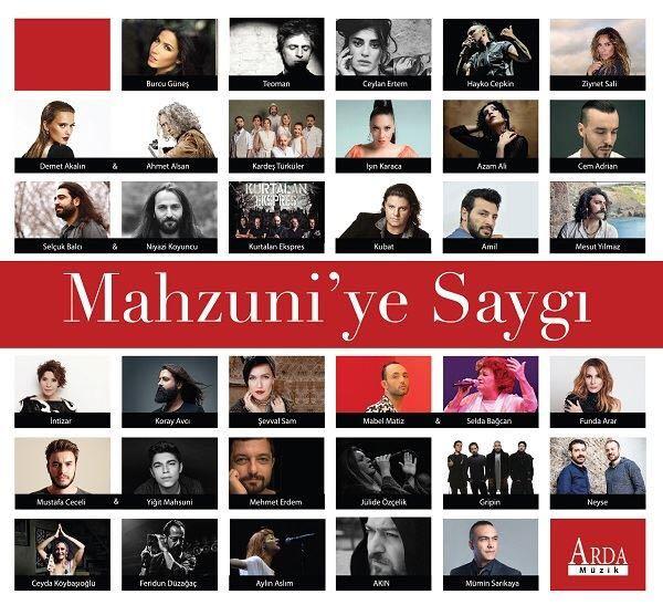 """""""Mahsuni'ye Saygı"""" Albümü İçin Ünlüler Bir Araya Geldi!.."""