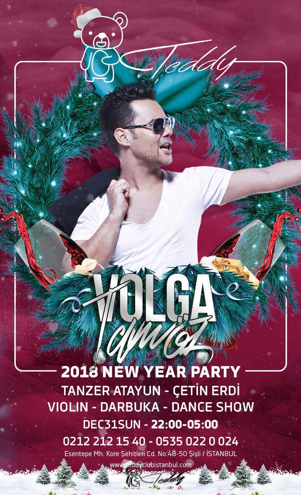Yılbaşında Volga Tamöz'den Muhteşem DJ Performansı!..
