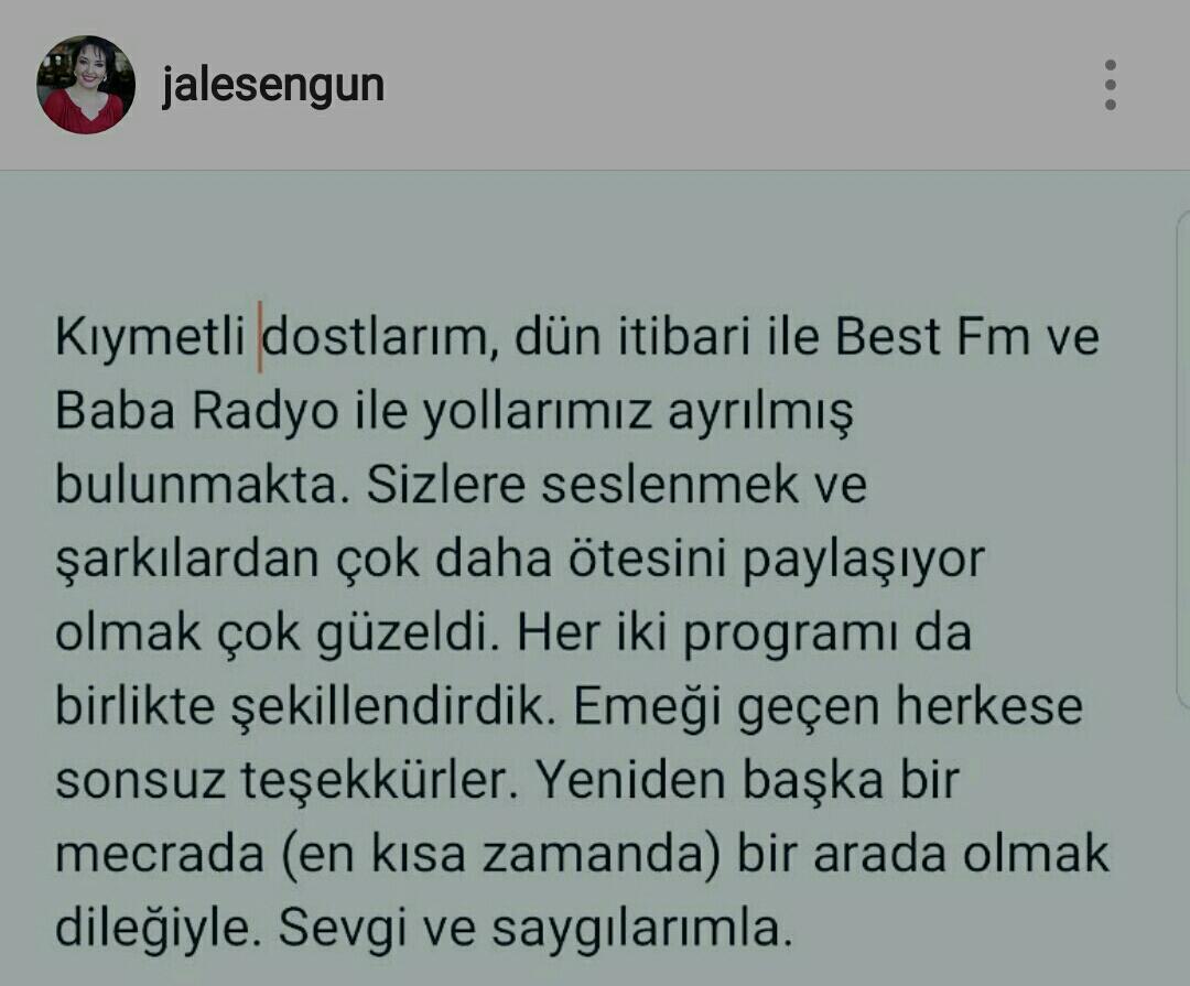 Best FM ve Baba Radyo'da Şok Ayrılık!..
