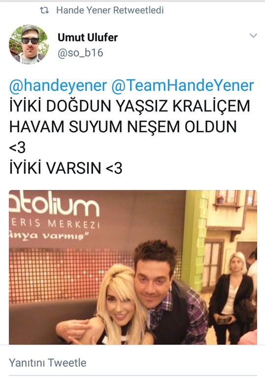 İyi ki Doğdun Kraliçe Hande Yener!..