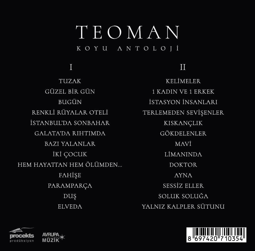 "Teoman'dan Özel Box-Set Albüm ""Koyu Antoloji"""