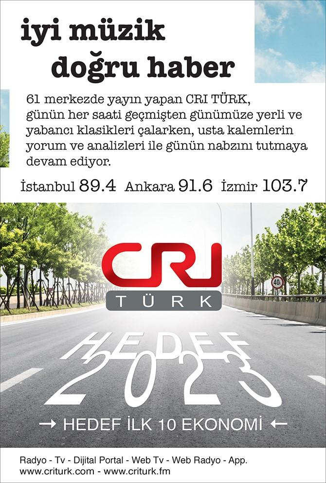 CRI Türk FM İstanbul'un Her Yerini Sardı!..