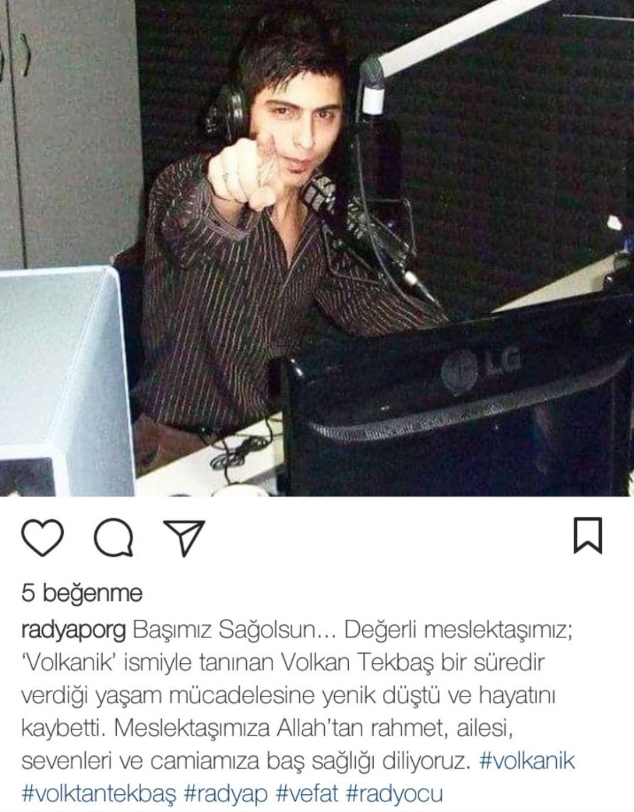 Genç Radyocu Hayatını Kaybetti!..