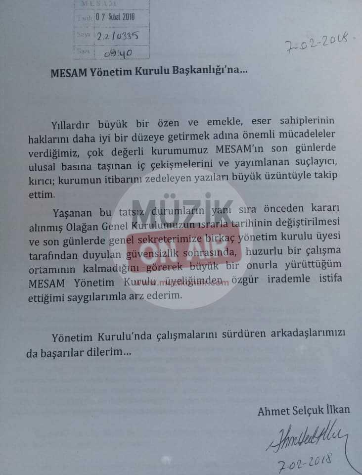 MESAM'da Yaşanan İstifa Depreminin Belgeleri Ortaya Çıktı!..