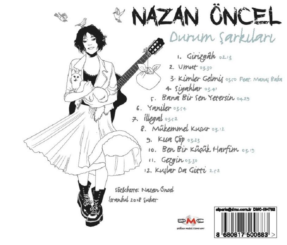 Nazan Öncel'in Yeni Albüm Kapağını Gördünüz mü?