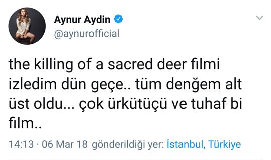 Aynur Aydın Türkçesi ile Şaşırttı!..