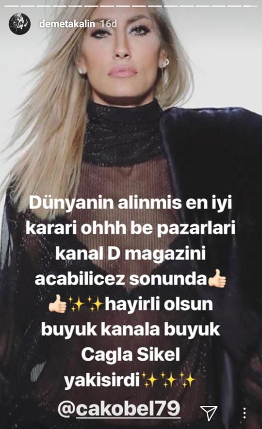 Demet Akalın, Asena Atalay Gidince Bir 'Oh' Çekti!..