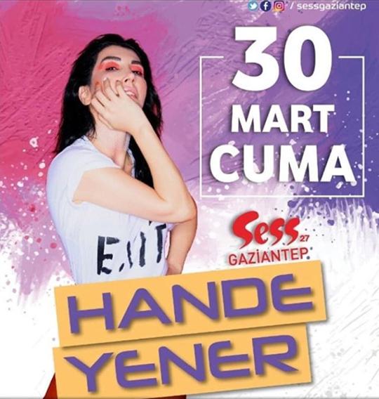 Hande Yener Gaziantep'e Geliyor!..