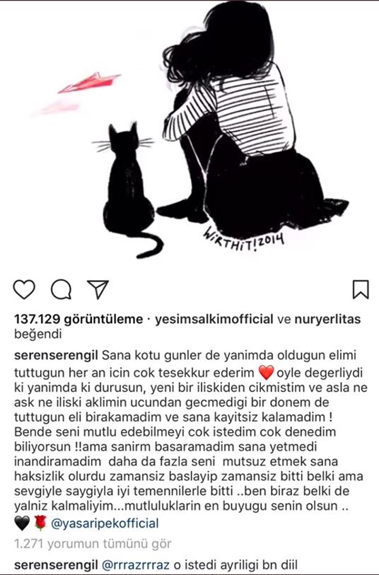 Yaşar İpek ve Seren Serengil Ayrıldı!..