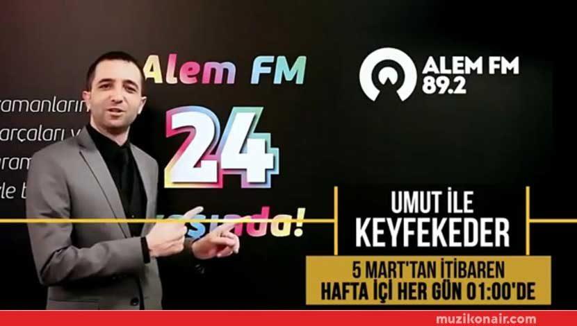 Alem FM Mikrofonu Artık Sabaha Kadar Açık!..