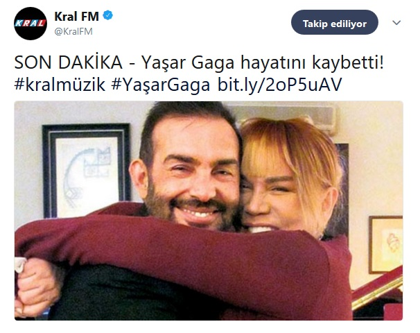 Radyo Dünyası Yaşar Gaga'ya Rahmet Diledi!..