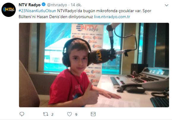 Radyo Dünyası 23 Nisan'ı Unutmadı!..