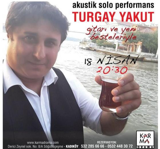 Turgay Yakut Yeni Besteleri ve Gitarıyla Karma Drama'da!..
