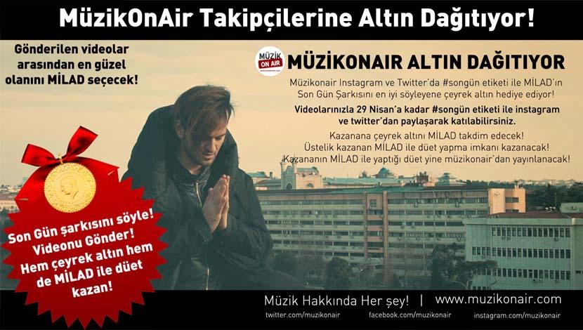 MüzikOnAir Altın Dağıtıyor!..